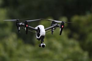 DJI Inspire, dron profesional usado para filmaciones