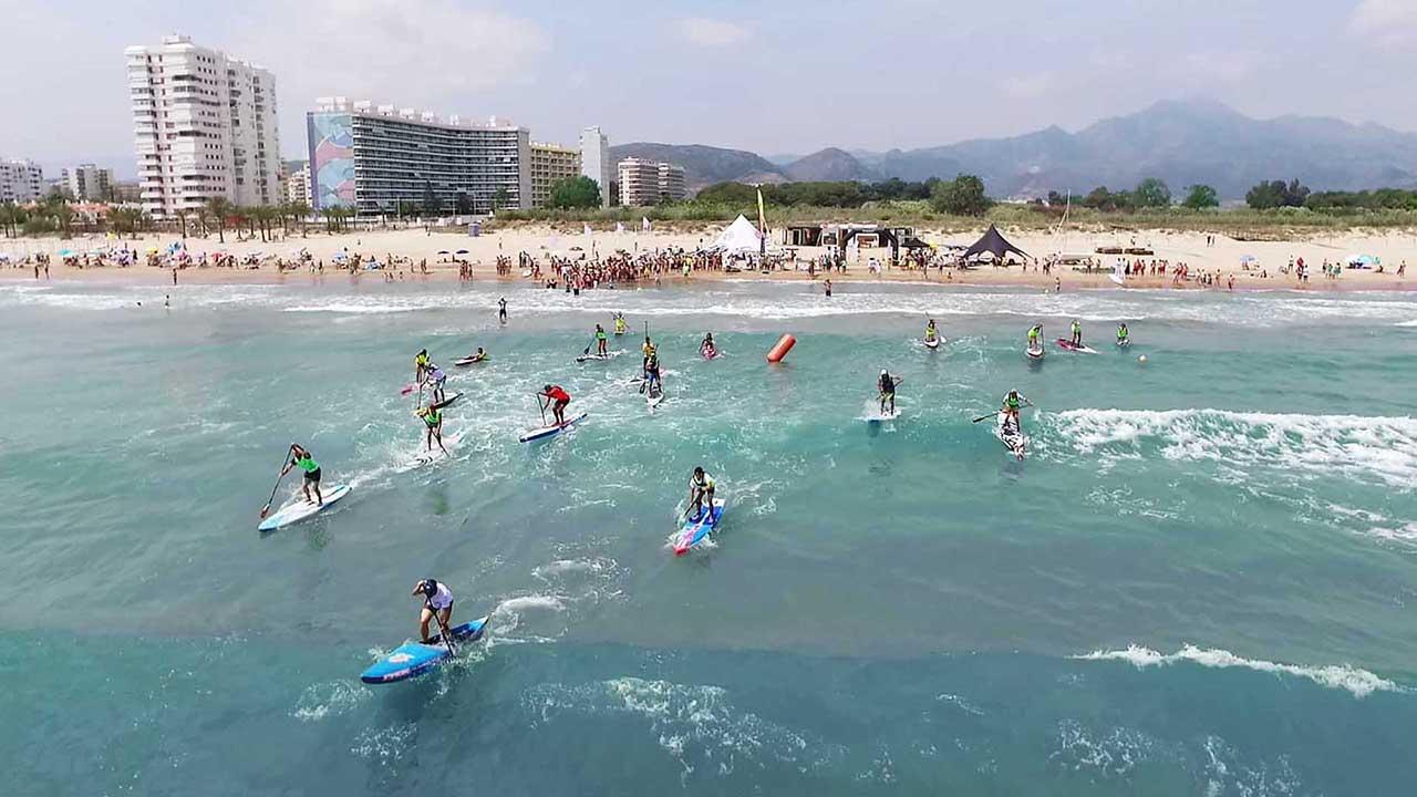 Sup Race Mediterráneo Gandia 2016, Servicios Aéreos